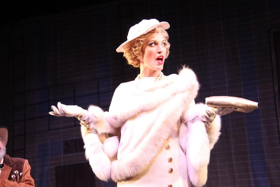 "Rachel York as Dorothy Brock in Reagle Music Theatre's production of ""42nd Street."""